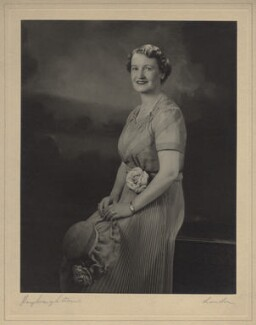 Mrs H.R. Mclarty, by Hay Wrightson - NPG x134597