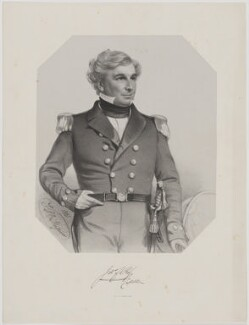 Sir James Clark Ross, by Thomas Herbert Maguire, printed by  M & N Hanhart - NPG D39877