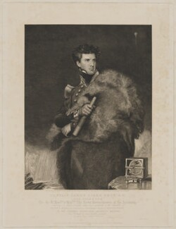 Sir James Clark Ross, by and published for Henry Richard Cook, printed by  Lahee & Co, published by  Colnaghi and Puckle, published by  Sir Francis Graham Moon, 1st Bt, after  John Robert Wildman - NPG D39883