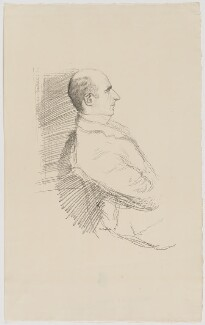 Sir Arthur Wing Pinero, by William Rothenstein - NPG D40226