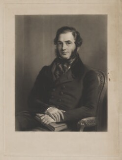 William Pinney, by Thomas Lewis Atkinson, after  Andrew Morton, 1840s - NPG D40227 - © National Portrait Gallery, London