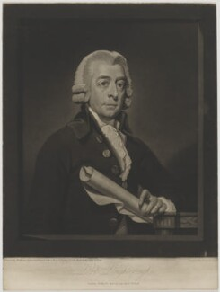 Alexander Wedderburn, 1st Earl of Rosslyn (Lord Loughborough), by and published by Henry Hudson, after  Mather Brown - NPG D39886