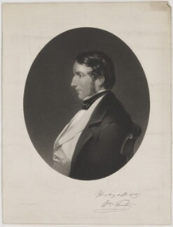 William Pinton, by Thomas Oldham Barlow, published by  J. Gilbert, after  M. Wulff - NPG D40229