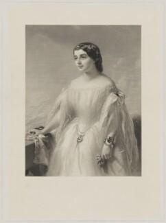Charlotte de Rothschild, by Samuel Bellin, after  James Sant - NPG D39893