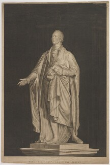William Pitt, by Joshua (or John) Kirby Baldrey, after  Joseph Nollekens - NPG D40237