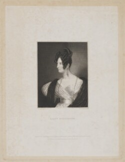 Charlotte Rouse-Boughton (née Knight), Lady Rouse-Boughton, by John Cochran, published by  Edward Churton, after  Henry Collen - NPG D39897