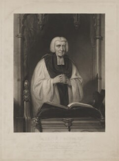 Martin Joseph Routh, by David Lucas, published by  William Johnstone White, after  Thomas Clement Thompson - NPG D39901