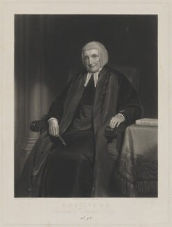 Martin Joseph Routh, by Henry Cousins, published by  James Ryman, after  Henry William Pickersgill - NPG D39902