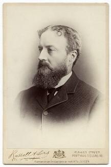 Michael Edward Hicks Beach, 1st Earl St Aldwyn, by James Russell & Sons - NPG x17089