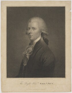 William Pitt, published by John Brydon, after  Simon de Koster - NPG D40247