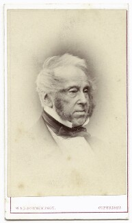 Henry John Temple, 3rd Viscount Palmerston, by W. & D. Downey - NPG x134610