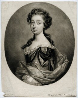 Unknown woman, by Isaac Beckett, sold by  John Smith, after  Sir Godfrey Kneller, Bt - NPG D39908