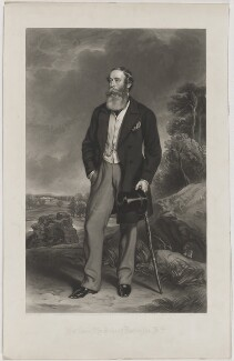 James Henry Robert Innes-Ker, 6th Duke of Roxburghe, by George Zobel, printed by  Holdgate Brothers, published by  Henry Graves & Co, after  Sir Francis Grant - NPG D39909