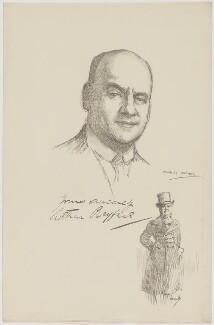 Arthur Wyndham Playfair, after Charles Buchel (Karl August Büchel), after  John Hassall - NPG D40263