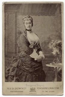 Eugénie, Empress of France, by W. & D. Downey - NPG x134615