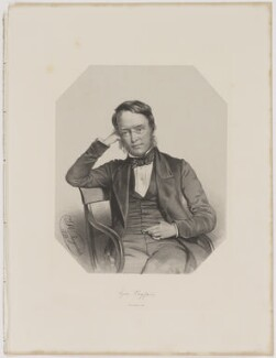 Lyon Playfair, 1st Baron Playfair, by Thomas Herbert Maguire, printed by  M & N Hanhart - NPG D40269