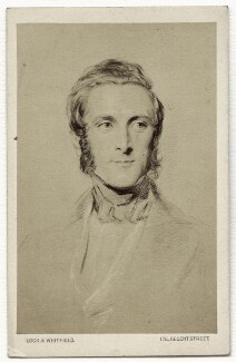 James Andrew Broun Ramsay, 1st Marquess of Dalhousie, by Lock & Whitfield, after  George Richmond - NPG x134620