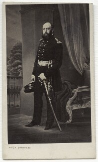 Prince George William Frederick Charles, 2nd Duke of Cambridge, by Mayer Brothers, mid-late 1850s - NPG x134621 - © National Portrait Gallery, London