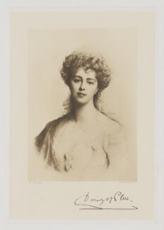 Mary Theresa Olivia ('Daisy') (née Cornwallis-West), Princess of Pless, by Frederick John Jenkins, after  Ellis William Roberts - NPG D40275