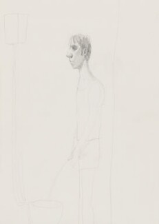 Stuart Pearson Wright: study for film installation ('Moment in a Man's Day'), by Stuart Pearson Wright, 2005 - NPG 6745(2) - © National Portrait Gallery, London