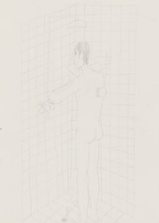 Stuart Pearson Wright: study for film installation ('Moment in a Man's Day'), by Stuart Pearson Wright, 2005 - NPG 6745(4) - © National Portrait Gallery, London