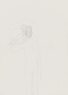 Stuart Pearson Wright: study for film installation ('Moment in a Man's Day'), by Stuart Pearson Wright - NPG 6745(6)