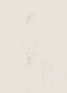 Stuart Pearson Wright: study for film installation ('Moment in a Man's Day'), by Stuart Pearson Wright - NPG 6745(7)