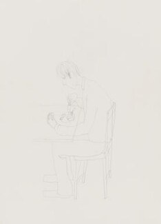 Stuart Pearson Wright: study for film installation ('Moment in a Man's Day'), by Stuart Pearson Wright - NPG 6745(9)
