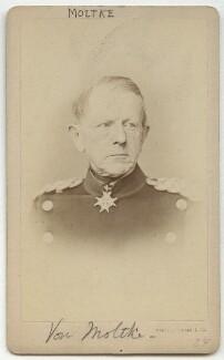 Helmuth Karl Bernhard von Moltke, Count von Moltke, by L. Haase & Co - NPG x134634