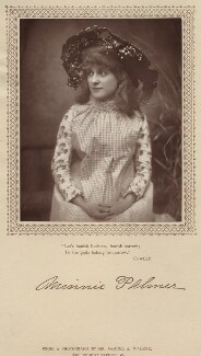 Minnie Palmer as Tina in 'My Sweetheart', by Samuel Alexander Walker - NPG x134635