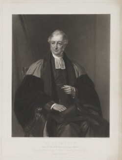 Frederick Charles Plumptre, by Thomas Lewis Atkinson, published by  Henry Graves & Co, and published by  James Ryman, after  Eden Upton Eddis - NPG D40281