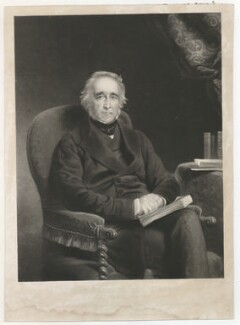 Jesse Watts-Russell, by George Salisbury Shury, published by  Henry Graves & Co, after  Eden Upton Eddis - NPG D39920
