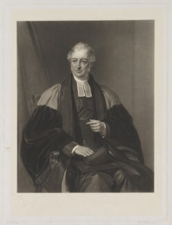 Frederick Charles Plumptre, by Thomas Lewis Atkinson, published by  Henry Graves & Co, and published by  James Ryman, after  Eden Upton Eddis - NPG D40283