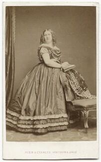 Henrietta Mary Ada Ward, by John & Charles Watkins - NPG x134640