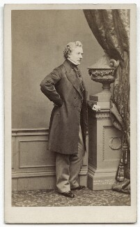 Thomas Milner Gibson, by John Jabez Edwin Mayall, 1862 - NPG x134642 - © National Portrait Gallery, London