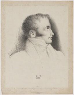 John Russell, 1st Earl Russell, by Benjamin Robert Haydon, printed by  Charles Joseph Hullmandel, published by  Thomas McLean - NPG D39922