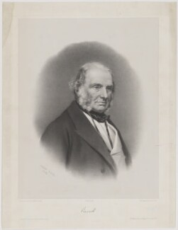 John Russell, 1st Earl Russell, by Alphonse Léon Noël, printed by  Lemercier, published by  Victor Delarue, after  William Walker & Sons - NPG D39929