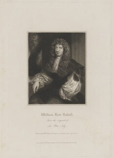 William Russell, Lord Russell, by Edward Scriven, published by  Lackington, Allen & Co, published by  Longman, Hurst, Rees, Orme & Brown, after  Robert William Satchwell, after  Sir Peter Lely - NPG D39935