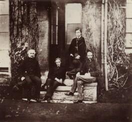 Hon. Robert Bruce; Herbert William Fisher; King Edward VII; Frederick Charles Keppel, by Hills & Saunders - NPG x134652