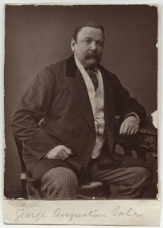 George Augustus Sala, by Unknown photographer - NPG x22338