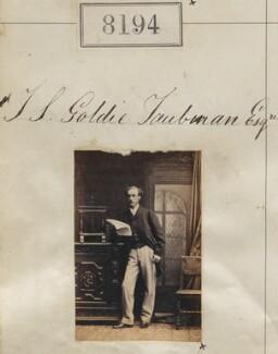 Sir John Senhouse Goldie-Taubman, by Camille Silvy - NPG Ax58013