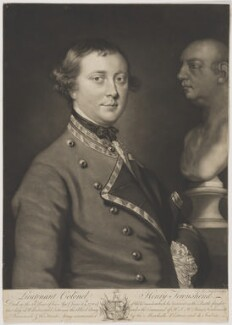 Henry Townshend, by James Macardell, probably after  Sir Joshua Reynolds - NPG D40304