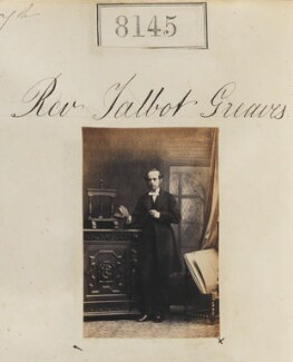 Talbot Aden Ley Greaves, by Camille Silvy - NPG Ax57963