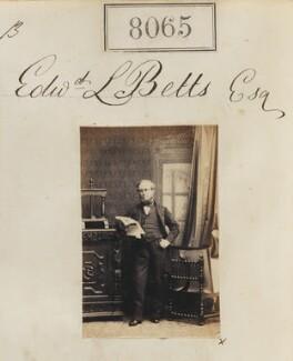 Edward Ladd Betts, by Camille Silvy - NPG Ax57899