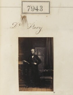 Frederick William Pavy, by Camille Silvy - NPG Ax57781