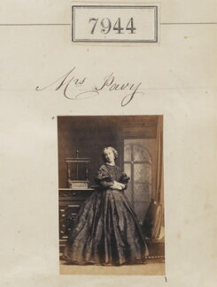 Julia Pavy (née Oliver), by Camille Silvy - NPG Ax57782