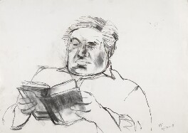 Sir Eduardo Paolozzi, by William Packer, 20 May 1988 - NPG 6915 - © William Packer / National Portrait Gallery, London