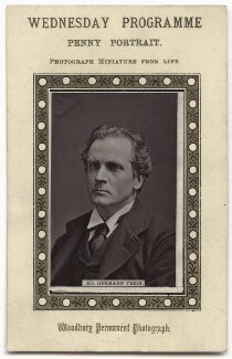 Hermann Vezin, by Unknown photographer, 1870s - NPG x134653 - © National Portrait Gallery, London