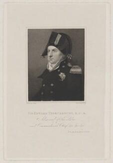 Sir Edward Thornbrough, by William Thomas Fry, after  Alexander Huey, circa 1815-1818 - NPG D40309 - © National Portrait Gallery, London