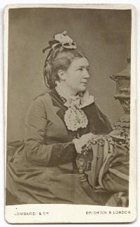 Jane Cannon Cox, by Lombardi & Co - NPG x134656
